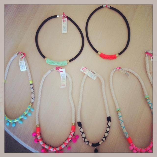 Emeldo necklaces