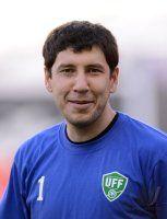 FUSSBALL INTERNATIONAL: Torwart Murtojon ZUKHUROV (Usbekistan)