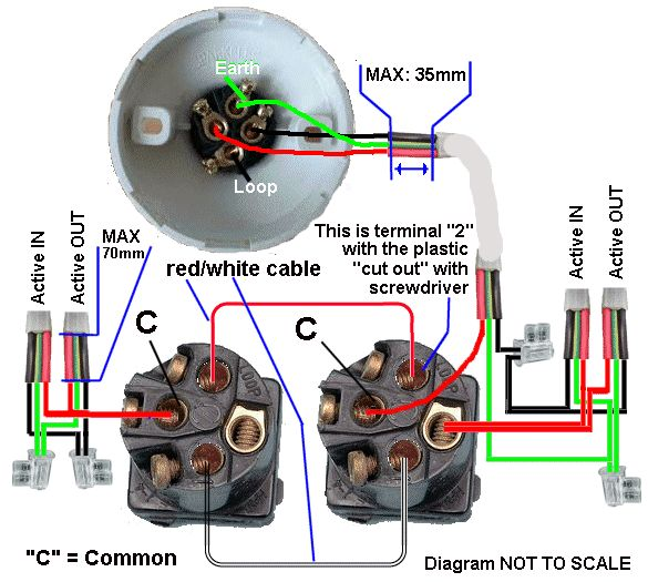 Electrical Wiring Diagram on triple gang 2 way light switch