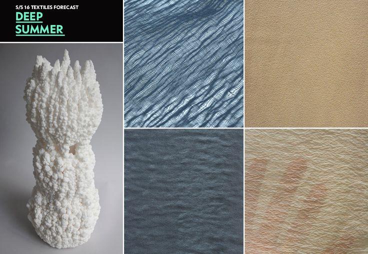 WGSN Deep Summer Textiles Forecast