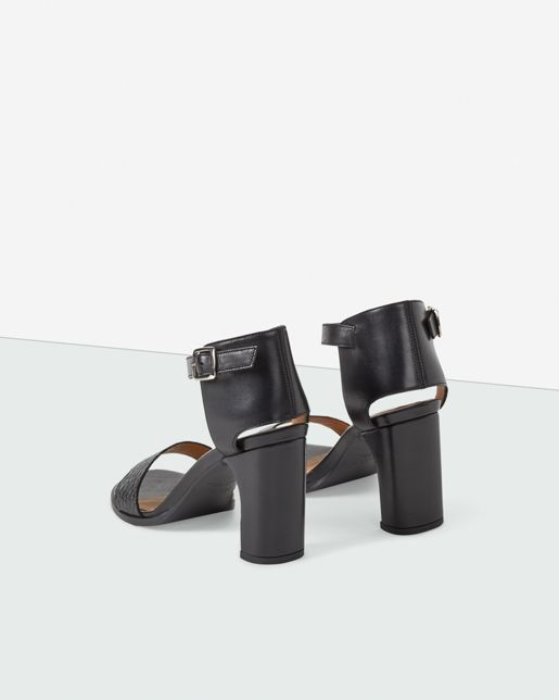 Lacey High Sandal Black - Shoes - Shop Woman - Filippa K