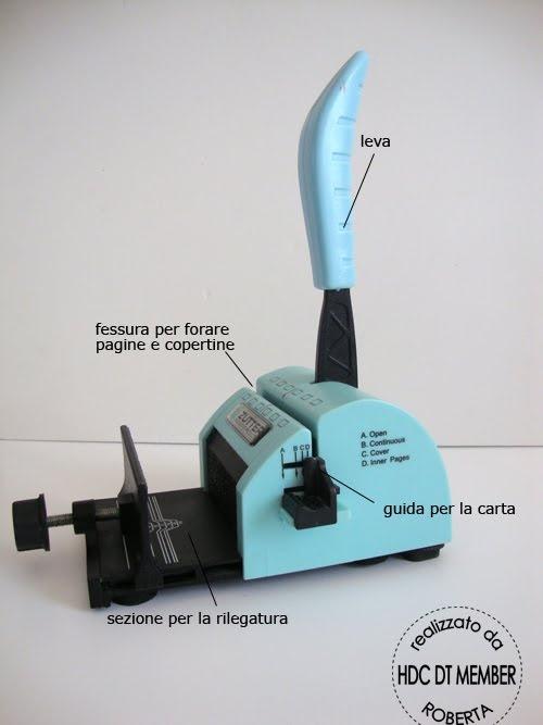 """Hobby di Carta - Il blog: COME SI FA?: """"Bind-it-All"""""""