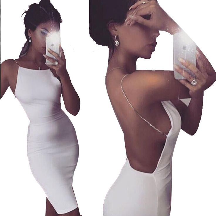 Slim sexy backless dress summer sexy dress hot party club women deep v-neck cocktail nightclub backless plus size short dresses
