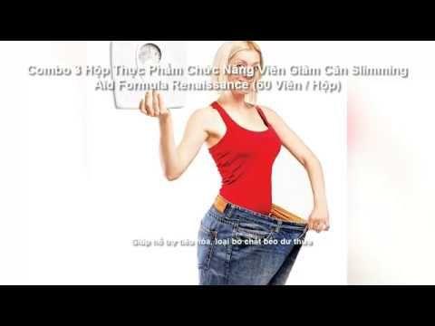 Combo 3 Hộp Thực Phẩm Chức Năng Viên Giảm Cân Slimming Aid Formula Renai...
