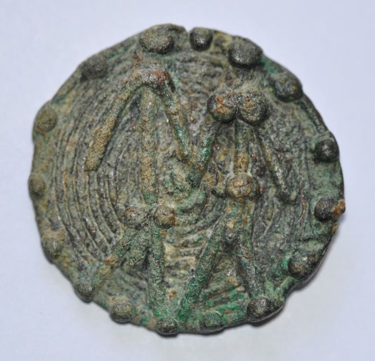 Amlash bronze ring with figurines 12, 1st millenium B.C. Private collection
