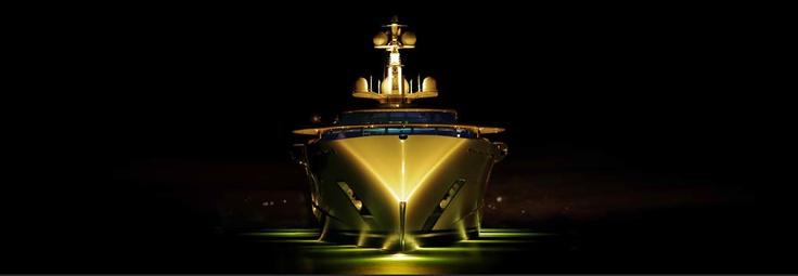 perfect futurist yacht ! We do party on it ?