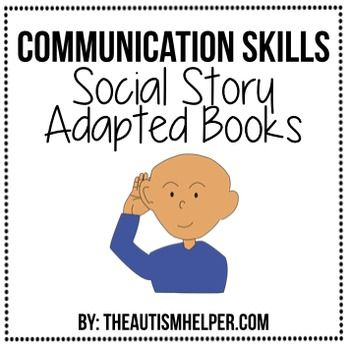 Social stories are a successful way to increase positive behaviors and decrease negative behaviors! This resource combines two effective strategies - social stories and adapted books! These books are interactive, engaging, and visually-based! They provide response options for appropriate behaviors so students can demonstrate their understanding of each concept.
