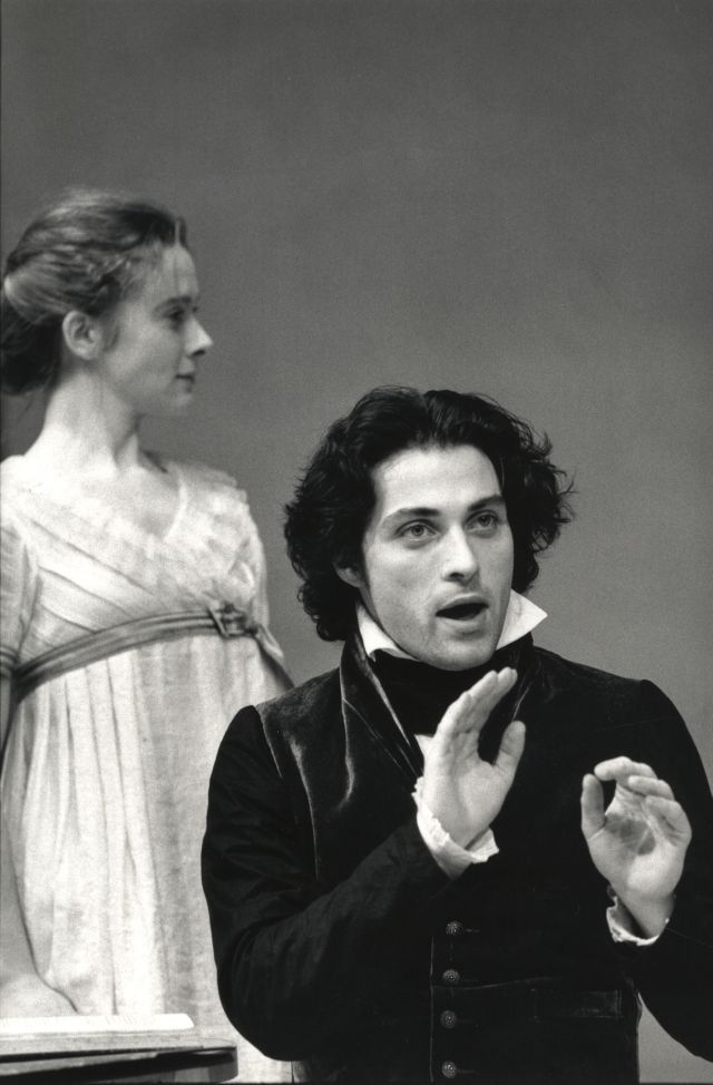 Emma Fielding and Rufus Sewell