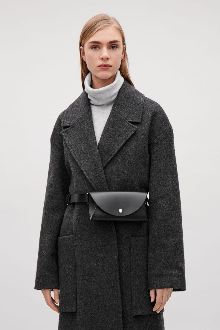 COS image 4 of Belted pocket bag in Black