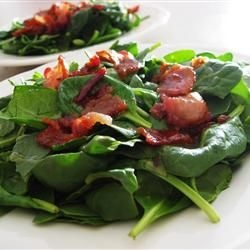 Hot Bacon Dressing Allrecipes.com  I want to try this, anything with bacon has to be good.