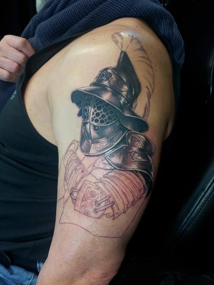 17 Best images about gladiator tattoo ideas on Pinterest