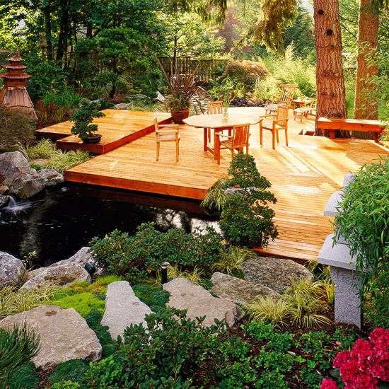 how to build a platform deck on the ground