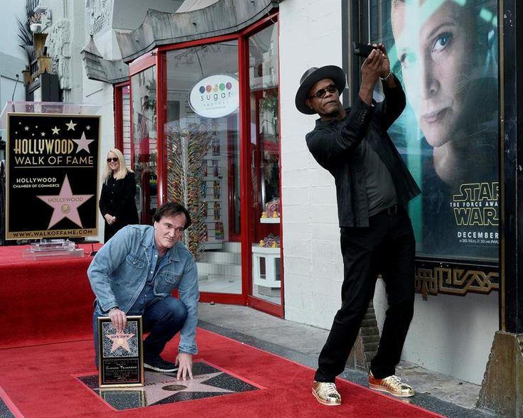 Quentin Tarantino recibe su estrella en el Paseo de la Fama de Hollywood | Radio Panamericana