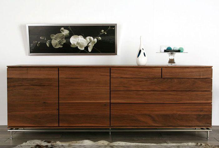 LINEキャビネットスタンダードタイプ北欧テイストミッドセンチュリーナチュラルチェストリビングボード木製シンプル国産完成品無垢ウォールナットメープル天然木日本製家具アクタスボーコンセプト好きにも
