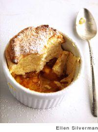 Georgia Peach Soufflés Recipe