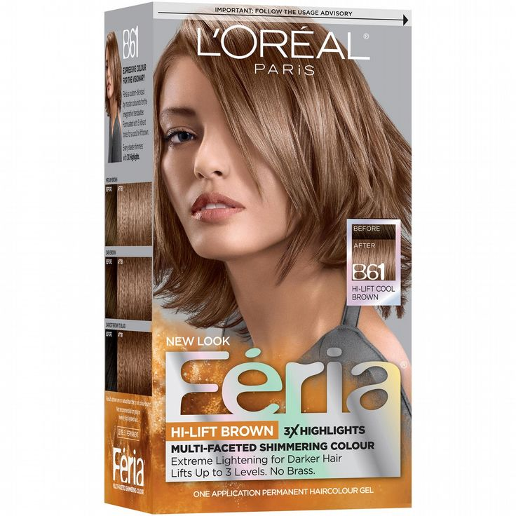 Feria Hair Color for Dark Hair - Best Hair Color with Highlights Check more at http://www.fitnursetaylor.com/feria-hair-color-for-dark-hair/