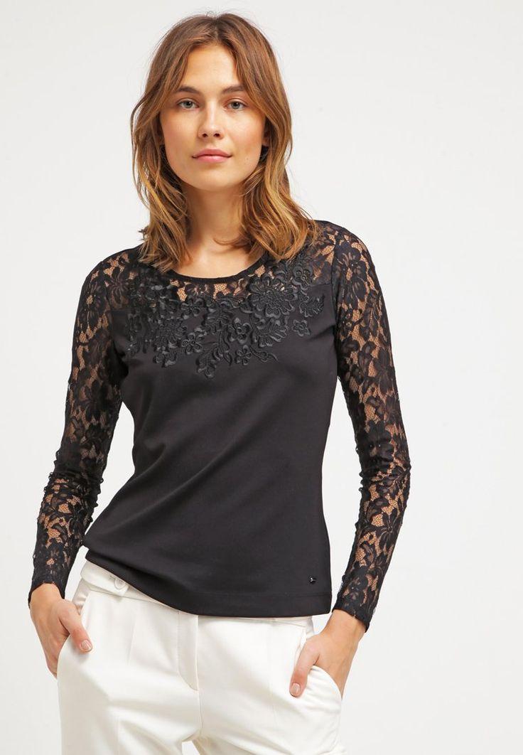 Escada ELACI T-shirt à manches longues black prix T-Shirt Femme Zalando 230.00 €