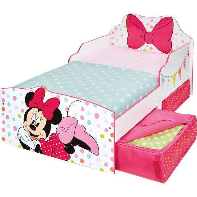 Kinderbett Minnie, inkl. Schubladen, 70 x 140 cm in 2020