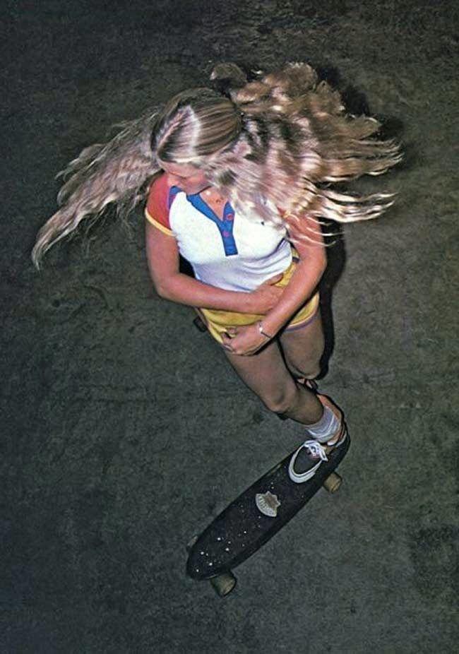 Ellen O'Neal (Deason) legendary female skateboarder in ...