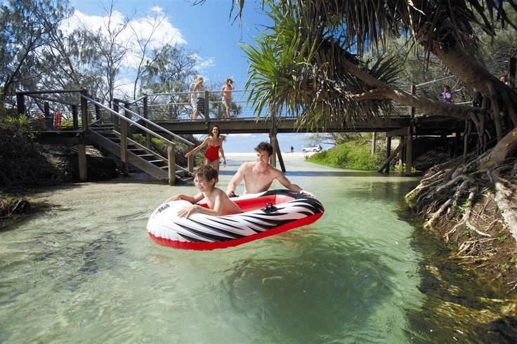 Eli Creek, Fraser Island #Queensland
