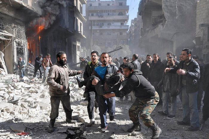 100 Men women and children have been killed with hundreds injured 24 hours…