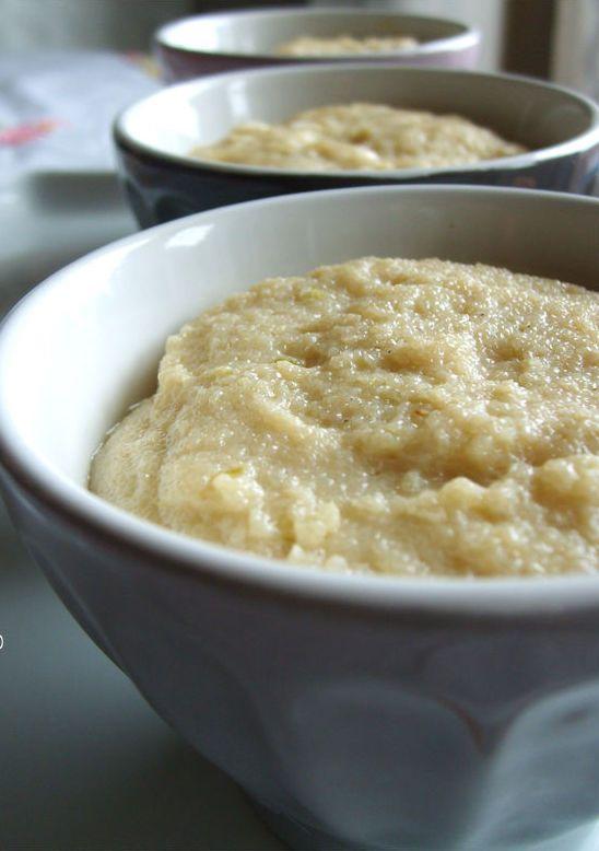 Petit déjeuner alternatif mais diététique : semoule de riz ou semoule de lait, version Evidiet.