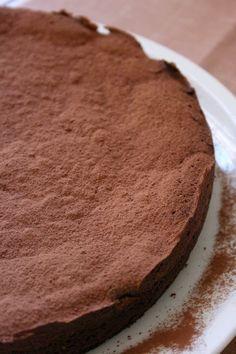 Torta Caprese recipe in Italian -Ricetta Originale