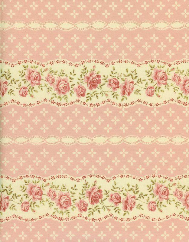 pink floral pattern -