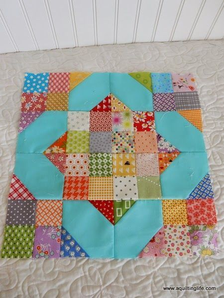 A Quilting Life - a quilt blog: Scrap Quilt Blocks