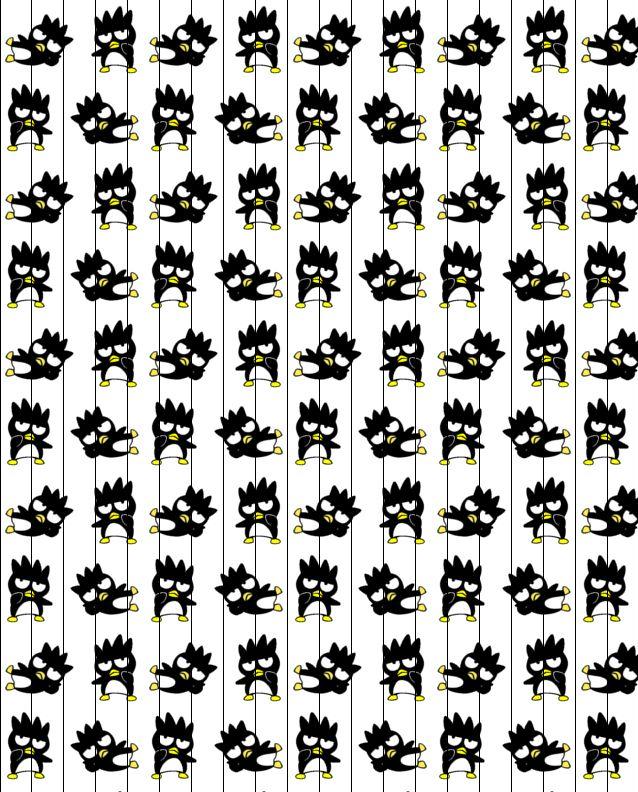 Badtz Maru. Sanrio. Wallpaper. Cute. Kawaii. Black Wallpaper. Girl ...