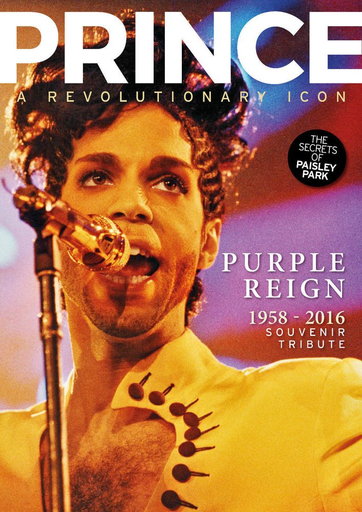 Prince - A revolutionary Icon - MINT Souvenir Tribute - Secrets of Paisley Park.