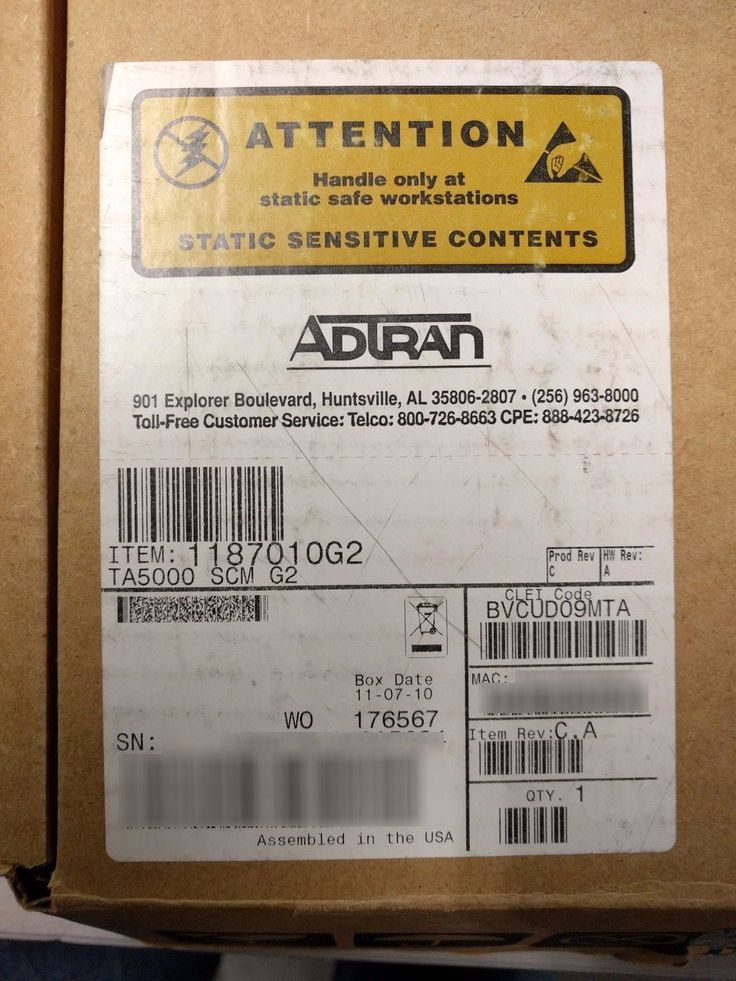 ADTRAN 1187010G2 TA5000 SM G2 BVCUD09MTA (We also buy ADTRAN!)
