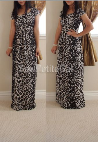 Asymmetrical Petite Maxi Dress Pattern DIY. The lady has quite a bit of cute diy patterns on her site & also sells some of her projects.