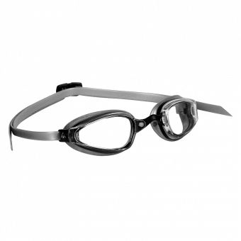 Aqua Sphere K-180 swim goggles are designed for competitive athletes with a need for speed. Low-profile, sleek styling.