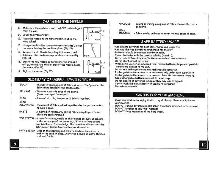 husqvarna sewing machine manual pdf