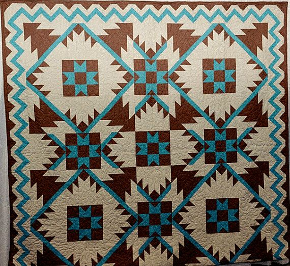 South West Inlay Designs And Patterns : Best native american quilts art designs bear s paw