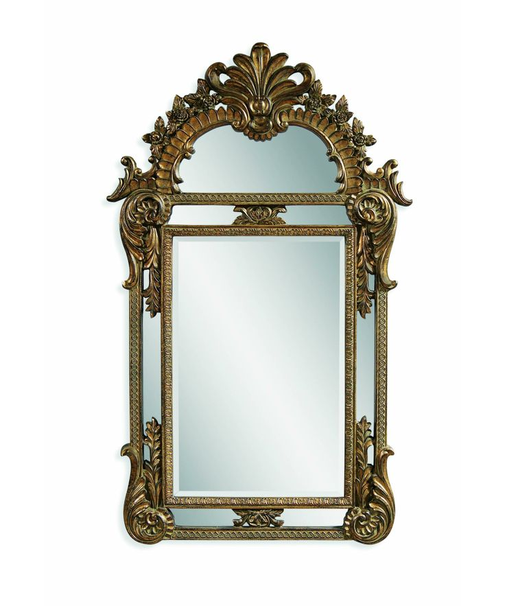 basset mirrors | Bassett Mirror Company M3129B Valencia Mirror | Capitol Lighting 1 ...