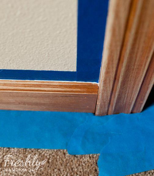 Freshly Handmade: Tutorial: A Beginner's Guide to Painting Wood Trim
