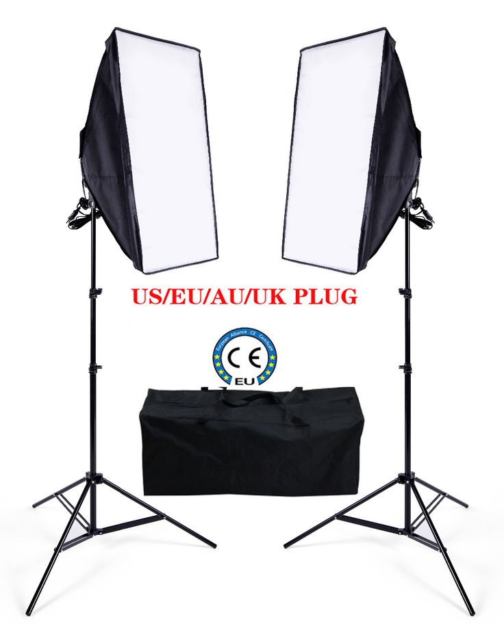 >> Click to Buy << Ukraine Russian Eu Free Shipping Photo stuido Soft Continuous Lighting Box video Photo lighting kit 2 softbox 2 light stand 8LED #Affiliate