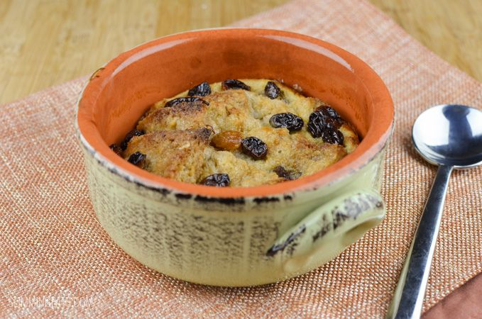 Low Syn Bread and Butter Pudding  - scroll right down page for recipe
