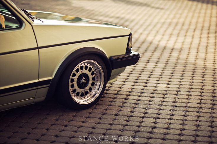 Mk1 Jetta Coupe/Image Wheels.