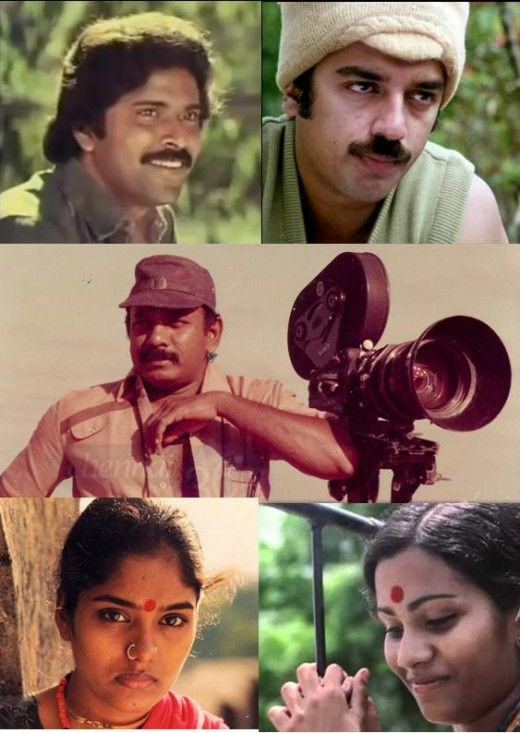 Balu Mahendra and his frequent associations