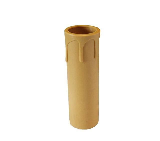 Comprar | Funda vela con gotas marrón 10cm | Fundas y velas restauración lámparas #handmade #accesorioslamparas #accesoriosiluminacion #fabricartulampara #accesoriosvintage