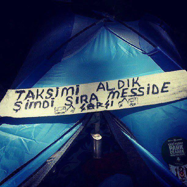 Gezi ve Messi #occupygezi #occupygezi #direngeziparkı #direngezi #wearegezi #occupytaksim #occupyturkey #Turkey