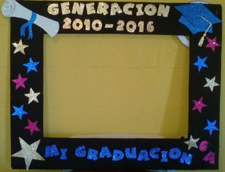 Marco Gigante para Fotos de Graduación