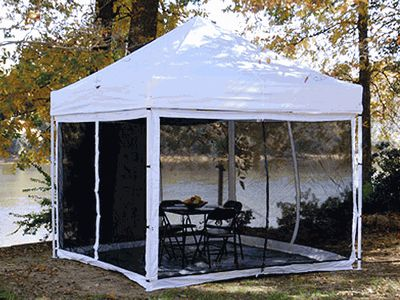 King Canopy Instant Canopy Bug Screen - For 10 Foot x 10 Foot Explorer Instant Canopies