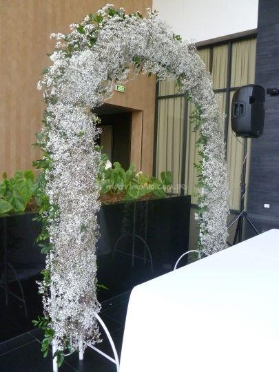 Arcos para showers de Erica Villegas Atelier Floral   Foto 43