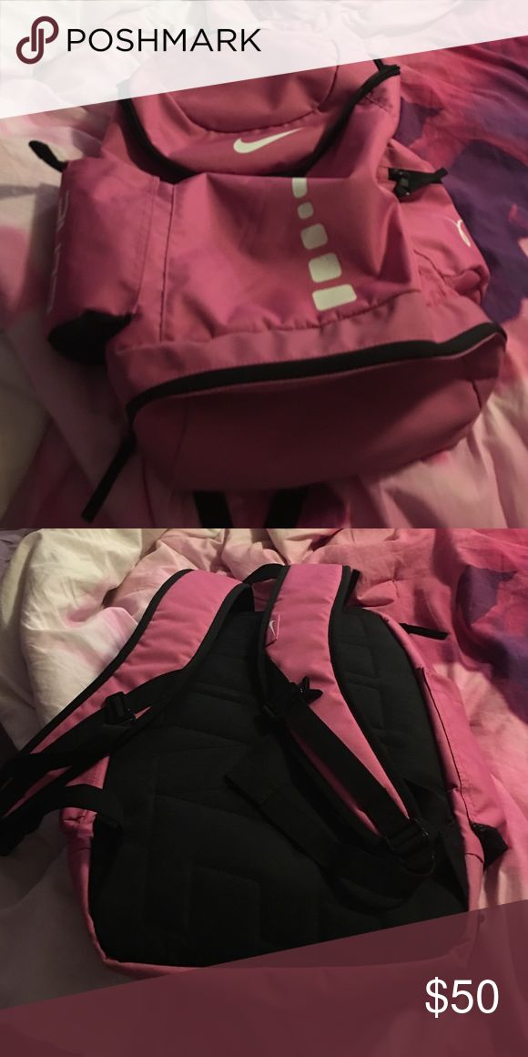 Pink nike elite bag In excellent condition Nike Bags Backpacks