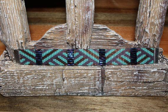 Custom Slash Loom Beaded Bracelet