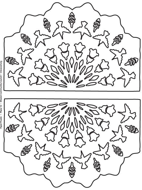 Moldes de Papel Picado | mexikanita.